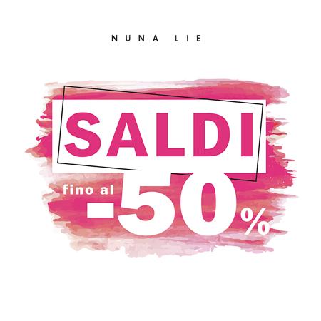 50% collezione primavera estate!